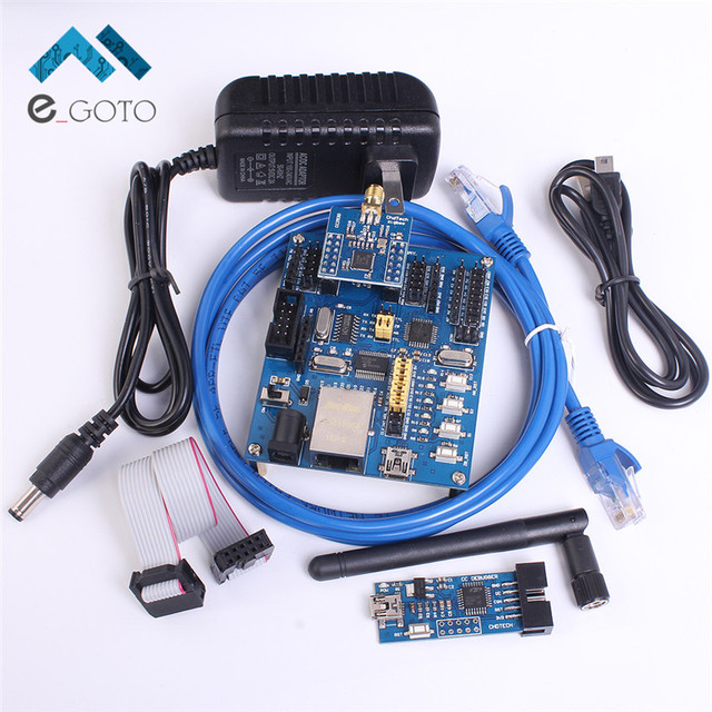 Kit Placa de Desenvolvimento CC2530 Zigbee Módulo Sem Fio WI-FI IOL Casa Inteligente 24 MHz 256KB 8kB Para Arduino