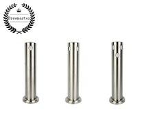 高品質 304 ステンレス鋼 3 1/2/3 穴列ビールタワー、自家製 1/ダブル/3 タップフォント (タップなし)