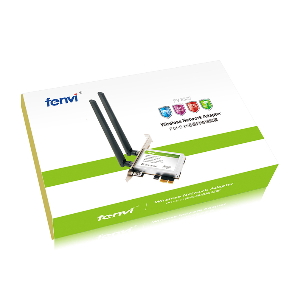 Image 5 - 600Mbps Dual band Wireless Wifi Adapter Desktop WLan WiFi Bluetooth BT 4.0 802.11 a/b/g/n PCI Express 1X/8X/16X Card-in Network Cards from Computer & Office