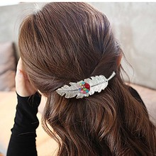 Leaf Shaped Hair Clip for Teenage Girls