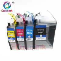 ColorInk 4Pack LC3219XL LC3217 XL 3219 ink cartridge For Brother LC3219 LC3217 MFC J5330DW J5335DW J5730DWJ5930DW printer|Ink Cartridges| |  -