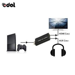 PS2 в HDMI HD видео конвертер аудио адаптер AV вход в HDMI видео/аудио сигналы выходной кабель для PS2 HD дисплей