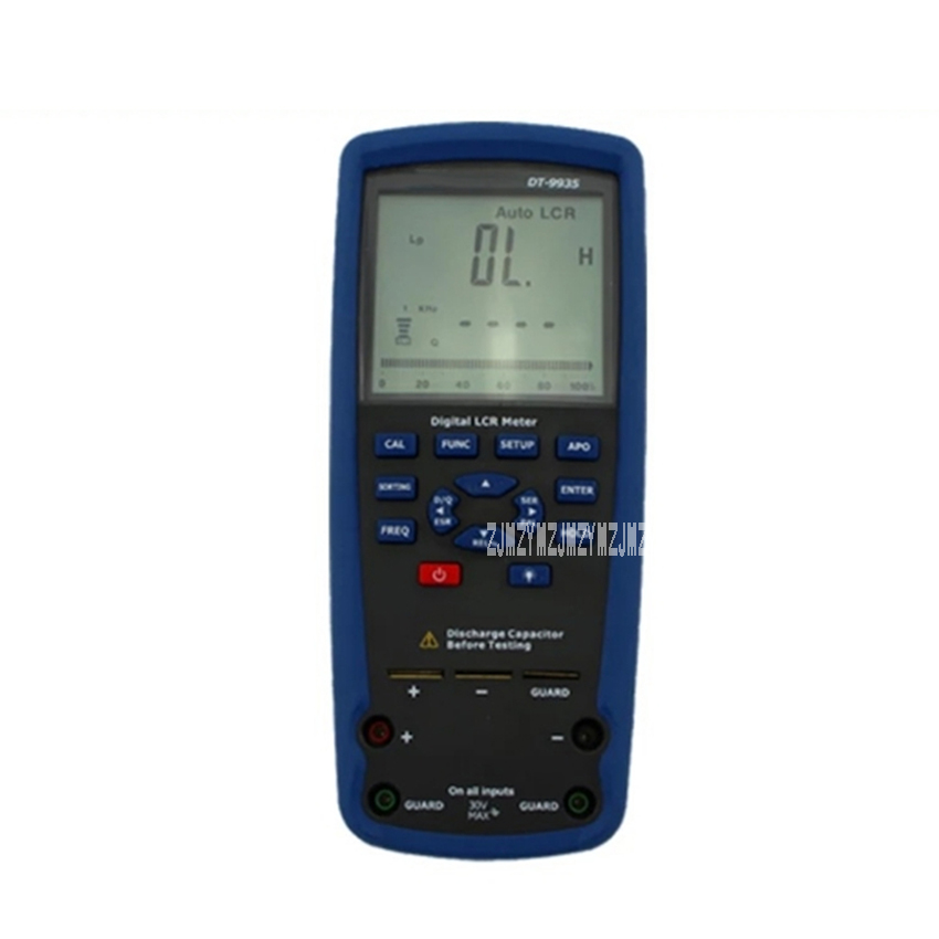 DT 9935 Electrical Multimeter LCR Meter Inductance Capacitance Resistance Tester Digital Multimeter 9V 5 times/minute 20pF 20mF
