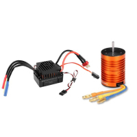 Remote Control Engines Motors For 1/10 HSP RC 9T 4370KV Brushless ESC 60A Combo