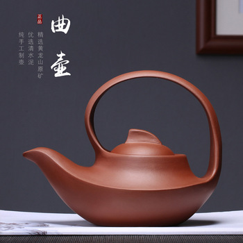 set clear undressed ore cement POTS, large product zhi-gang cao purple sand POTS a undertakes to customize the teapot