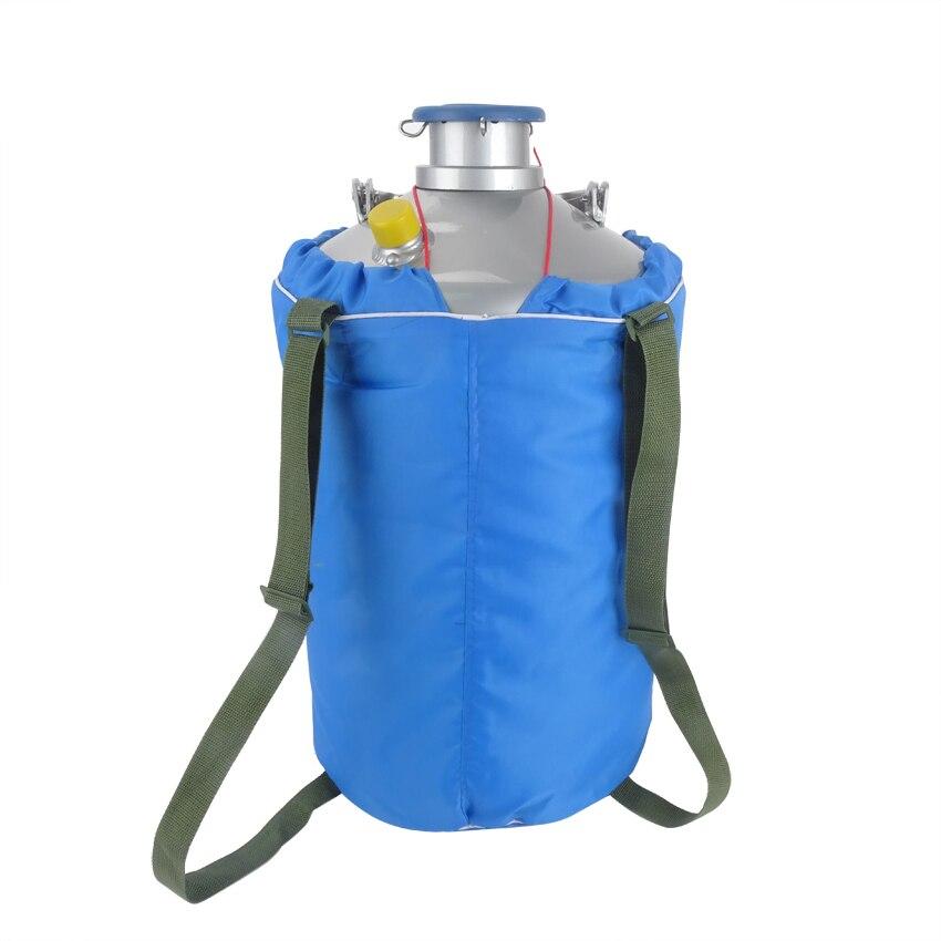 10L YDS-10 Tanque Criogênico recipiente Dewar nitrogênio Líquido com Alças de Alta Qualidade