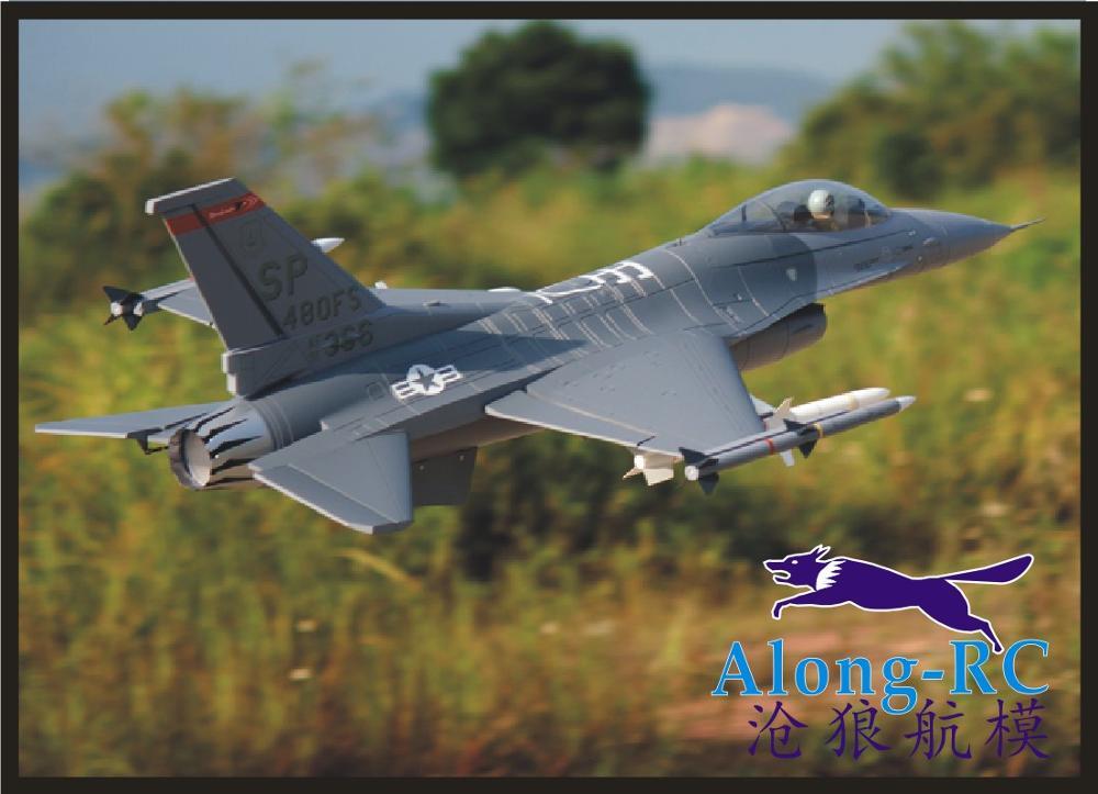 L'OEB avion RC avion MODÈLE RC HOBBY JOUET 70mm EDF train d'atterrissage Rétractable avion F-16C 4S 6 s VERSION PNP OU KIT