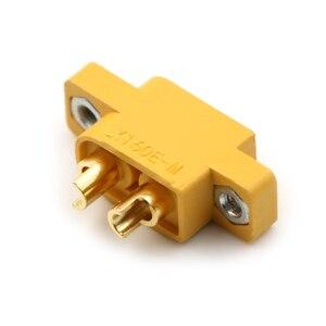 Image 1 - Pieza de repuesto DIY para multicóptero, placa fija, XT60E M amarillo, conector macho XT60 montable para modelos RC