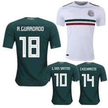 08caebf6f01 Top quality 2018 world cup Mexicans Men home away Soccer Jersey 18 19 adult Football  shirt