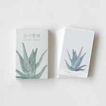 28 Pcs/box Cactus leaves mini greeting cards blessing card message cards birthday card postcard gift цена