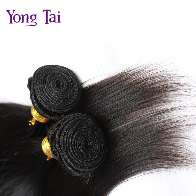 4 Pcs Lot 7a Remy Hair Bohemian Straight Weave With Weft Top Long
