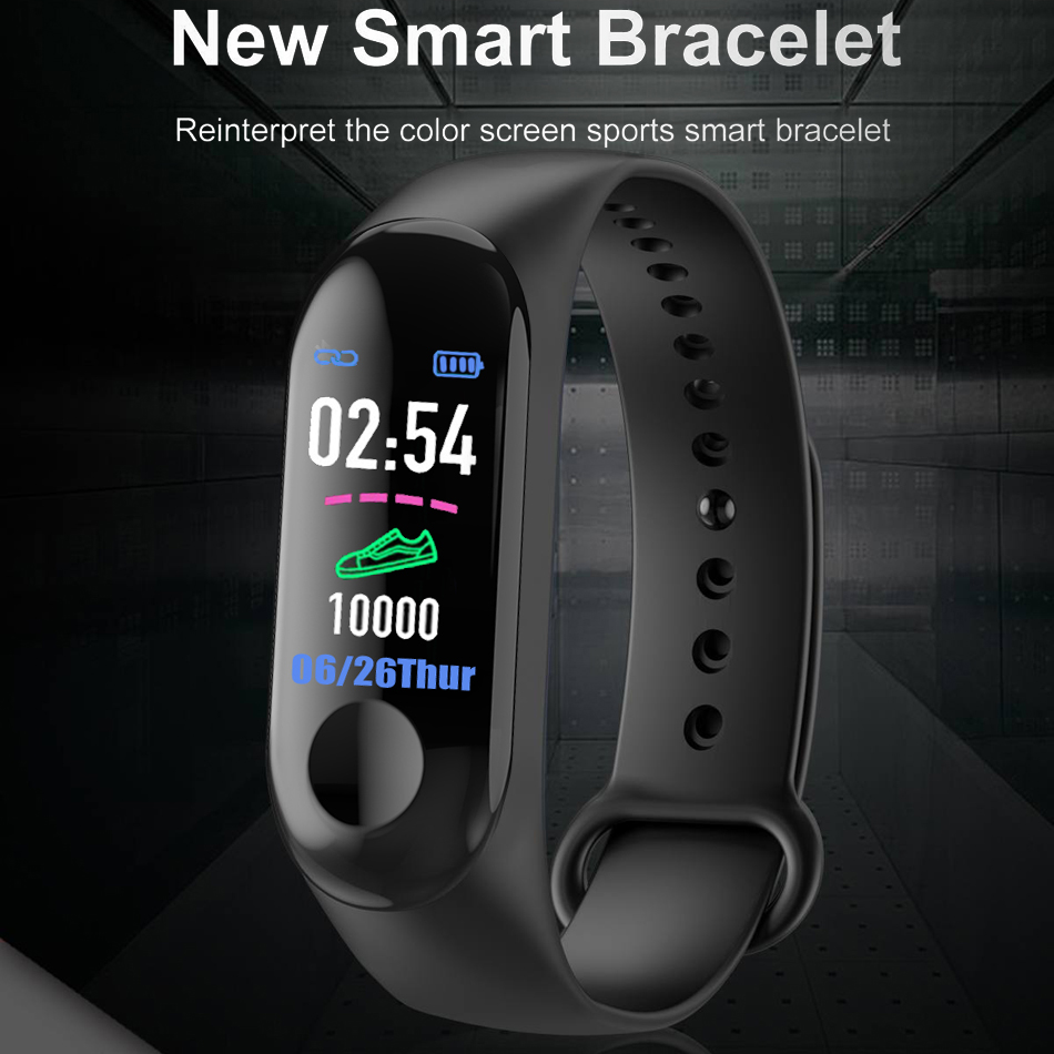 18 New Sport Waterproof Smart Bracelet Blood Pressure Monitor Smart band Fitness Tracker Pedometer Smart Wristband PK mi band 3
