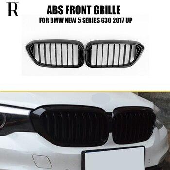 G30 G31 заменена стиль Передняя решетка решетки для BMW G30 528i 530i 540i 2017 UP