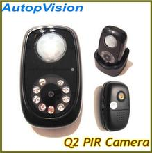 Q2 PIR Detector Camera Mini DVR with Night vision and Infrared body induction