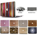 Hard Cover Shell Дизайнер Искусство Дерево Pattern Премиум Покрытием Shell Чехол Для Apple MacBook Air 11 13 Pro 12 13 15 Retina Вырезать логотип