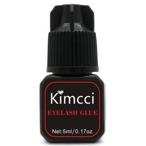 Image 1 - Kimcci 5ml Eyelash Extension Glue 1 3 Seconds Fast Drying Eyelashes Glue Pro Lash Glue Black Adhesive Retention Long Last