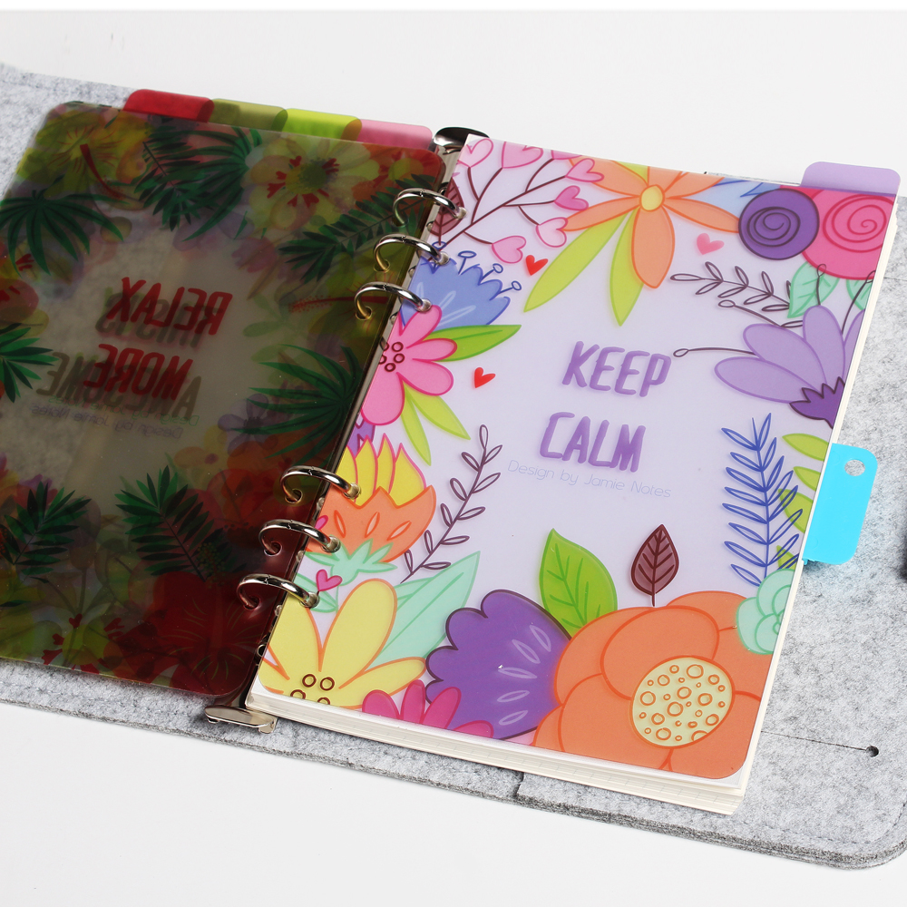 Geschenk Verpackung Candy Binder Zeit Planer Agenda Organizer Neue Mode Domikee Nette Cartoon Büro Schule Binder Notebook Schreibwaren Liefert