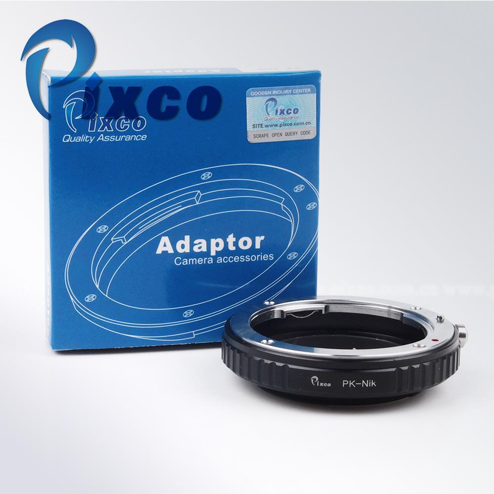 Pixco Macro lens Adapter Ring No Glass Work for Pentax Lens to Nikon F Mount  D7000  D3100  D300S  D3000  D3X  D90  D700 D810