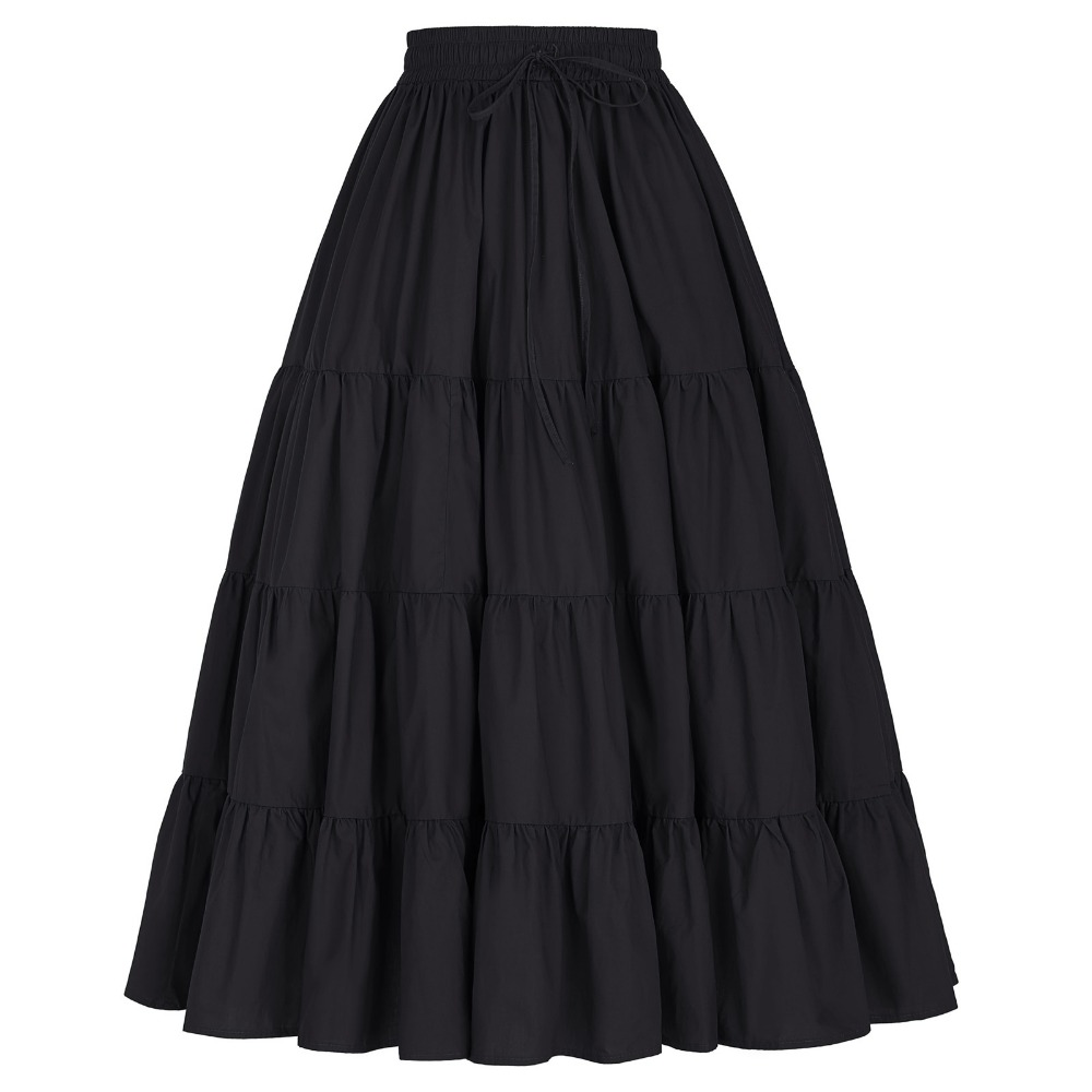 Online Get Cheap Black Cotton Maxi Skirt -Aliexpress.com | Alibaba ...