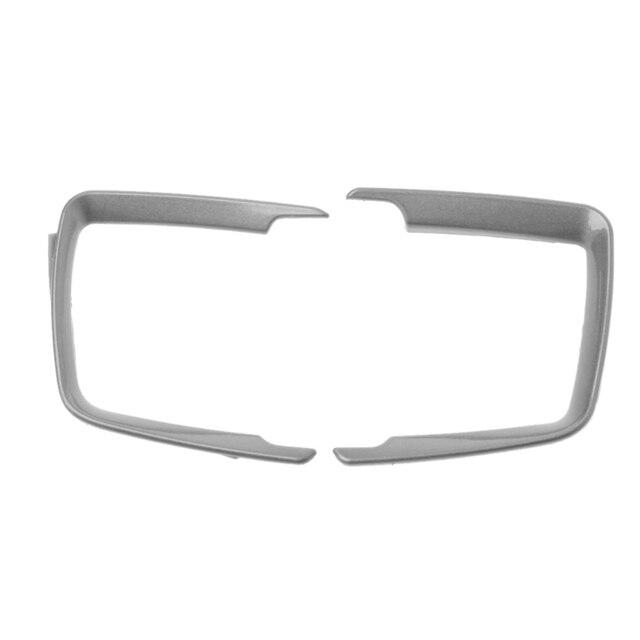 Matt Chrome Headlight switch Frame trim For F30 F31 F32 F34 3 4 Series Car Styling