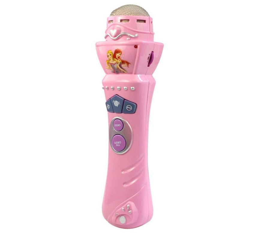 Lovely Wireless Girls Boys LED Microphone Karaoke Singing Kid Funny Music Toy Pretend Toys Play Kids Child Simulation microphone