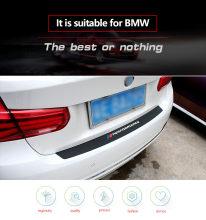 Rear Bumper Trim Guard Plate Protector Sticker For BMW