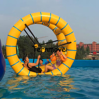 2m Long Inflatable Water Wheel Water Roller Ball For Kids & Adult For Inflatable Water Park inflatable water treadmill