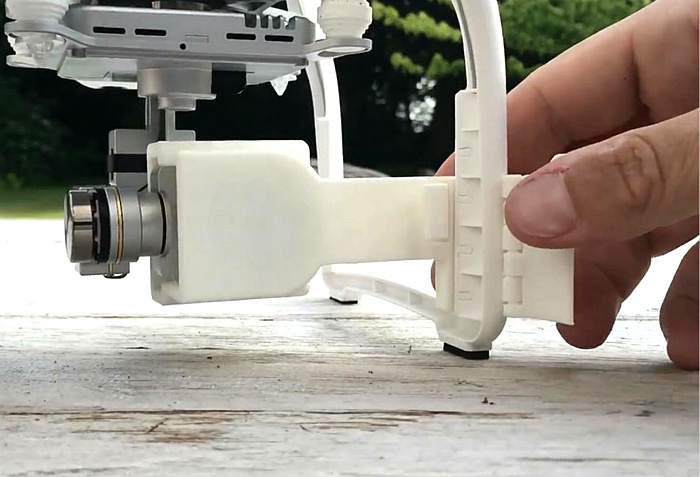 DJI Phantom 3 Accessories PTZ camera protective cover anti-loose fixation