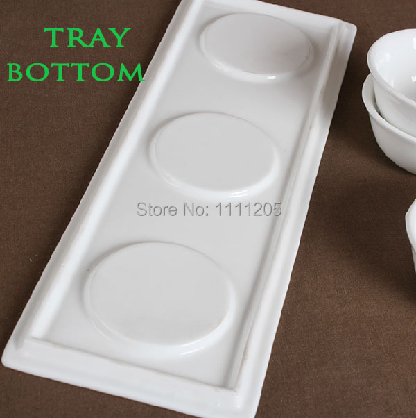 Melamine Serving Tray For Restaurant Hotel 26cm 3 Compartment Ice Cream Food Plates Pudding Dessert Sushi Etiser Dishs In Dinnerware Sets From Home