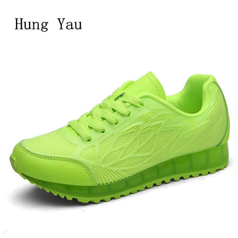 Women Casual Shoes Flat 2018 Fashion Outdoor Breathable Couple Shoes Lace Up Height Increasing Shoes Woman Platform minika new arrival women casual shoes fashion flat platform lace up women flat shoes hollow upper breathable sneaker women shoes