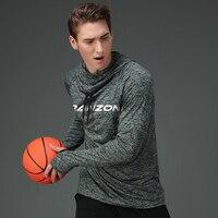 2017 Men Running Jackets Quick Dry Men Basketball Sports Jackets Hooded Soccer Football Coat Gym Fitness