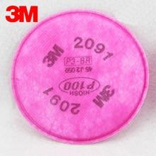 3 м 2091 Оригинал сажевый фильтр P100 защиты органов дыхания 99.97% эффективность фильтра Применение с 3 м маска LT044