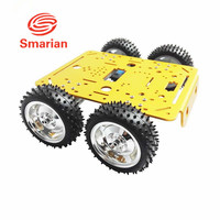 Official smarian C300 4WD Wheel Vehicle Robot 4 Motor and Driving Wheel Smart Car DIY RC Toy Remote Control Mobile Platform