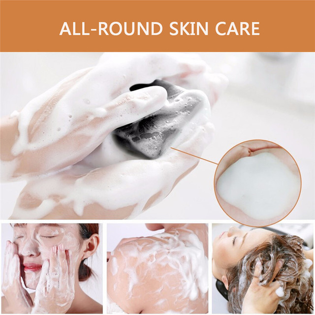 Wash Face Soap Oil Control Removal Blackhead Facial Anti Mites Tibetan Medicine Body Cleansing Soap Natural Mild Non-irritating 3