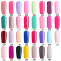 Ali Lowest Price Guaranteed Colors121-150 OF 186 Long Lasting Soak off Gel cured led uv lamp 7ml nail art gel polish uv