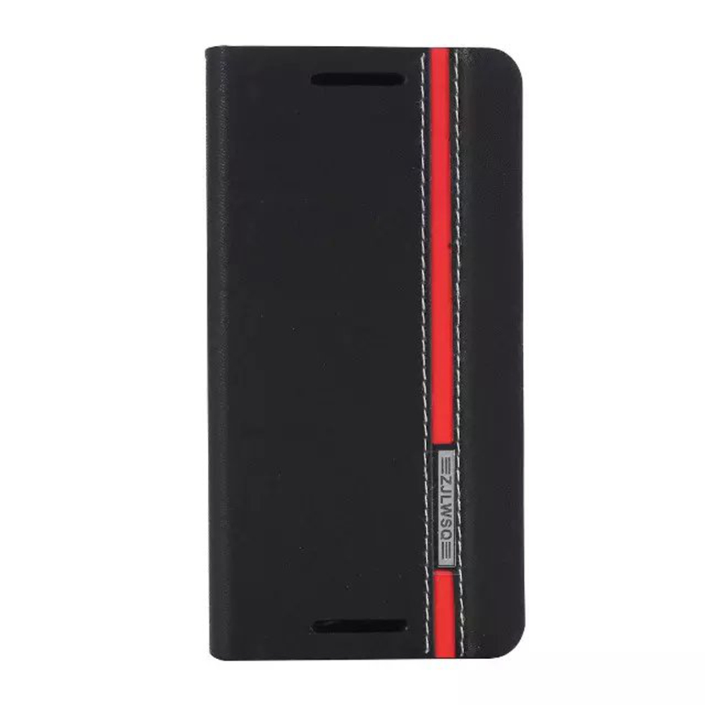 ✓Wonderfultry Flip cartera Funda de cuero para HTC M9 con soporte