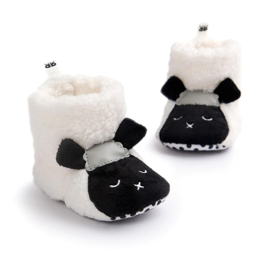 2018 Cute Lovely Toddler Baby Boy Girl Soft Sole Snow Boots Soft Crib Shoes Boots For Baby G1207