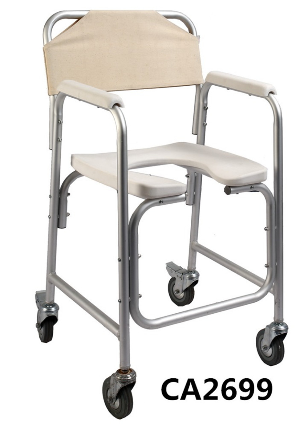 Portable commode folding bedside handicap adult toilet potty chair - Lightweight Commode Chair With Wheels Wheelchair With Toilet With Fda Certificate