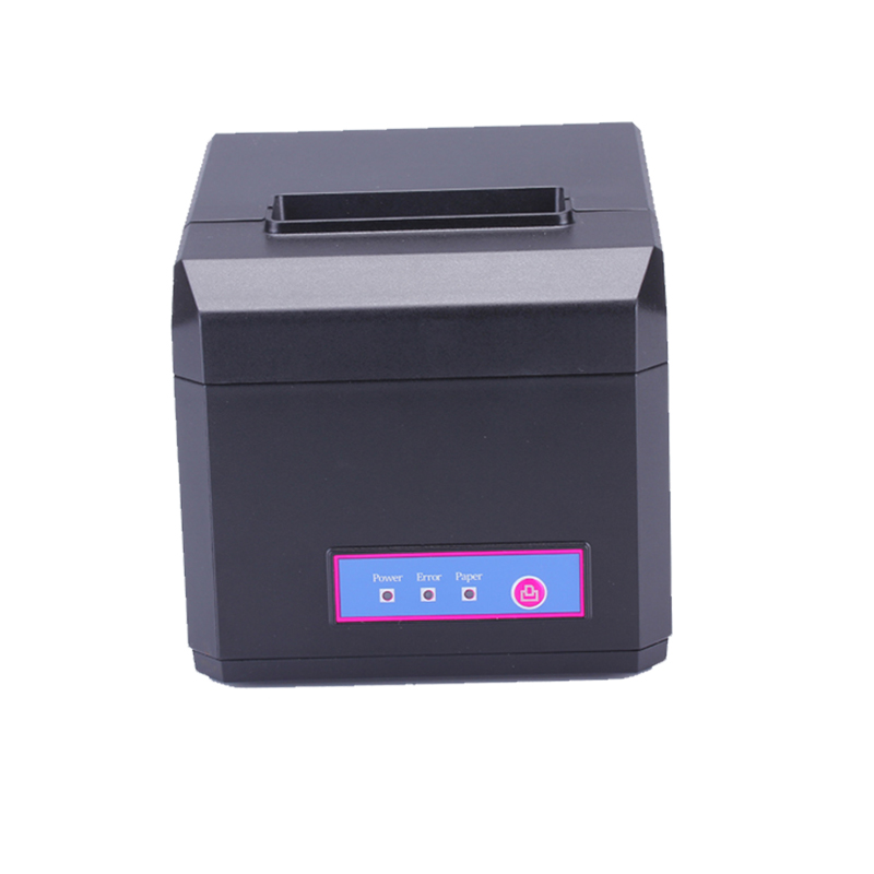 80mm also 58mm pos thermal receipt printer usb interface with cutter high quality supermarket restaurant printer support Win10