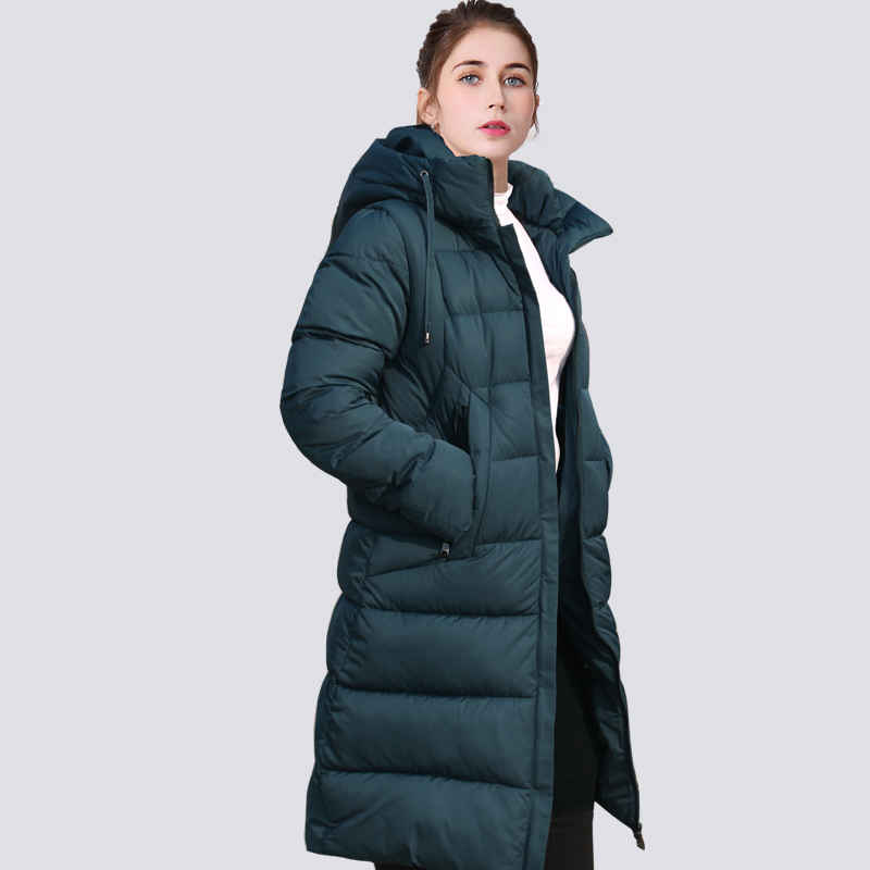 2019 New Thickening Winter Jacket Women   Parka   Plus Size 6XL Long Fashionable Women's Winter Coat Hooded Warm Down Jacket Outwear