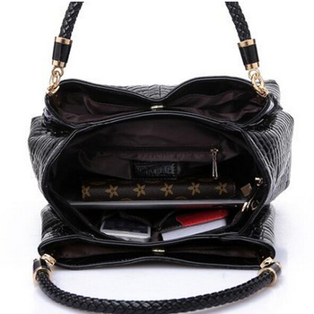 2019 Crocodile pattern Leather Handbag Women Fashion Famous Brands Shoulder Bags Black Tote Bag Ladies Handbag Bolsas Sac