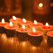100PCS 2.5/4/5/6/7/9/15/20cm Birthday Magic  Candle Diy Cotton Wick Smokeless