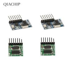 433 Mhz Superheterodyne RF Wireless Transmitter & Receiver Module with Antenna Remote Control Switch For Arduino uno Kits Z25