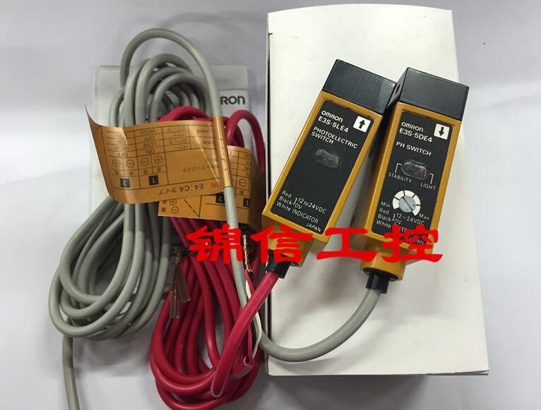 E3S-5E4 (E3S-5L E3S-5DE4)  OMRON photoelectric sensor e3s gs3e4