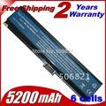 JIGU Laptop Battery 3UR18650F-3-QC262 SQU-525 CGR-B/6H5 LC.BTP00.001 For Acer Aspire 3030 3610 361X 303X 3200 32XX 3600 3680