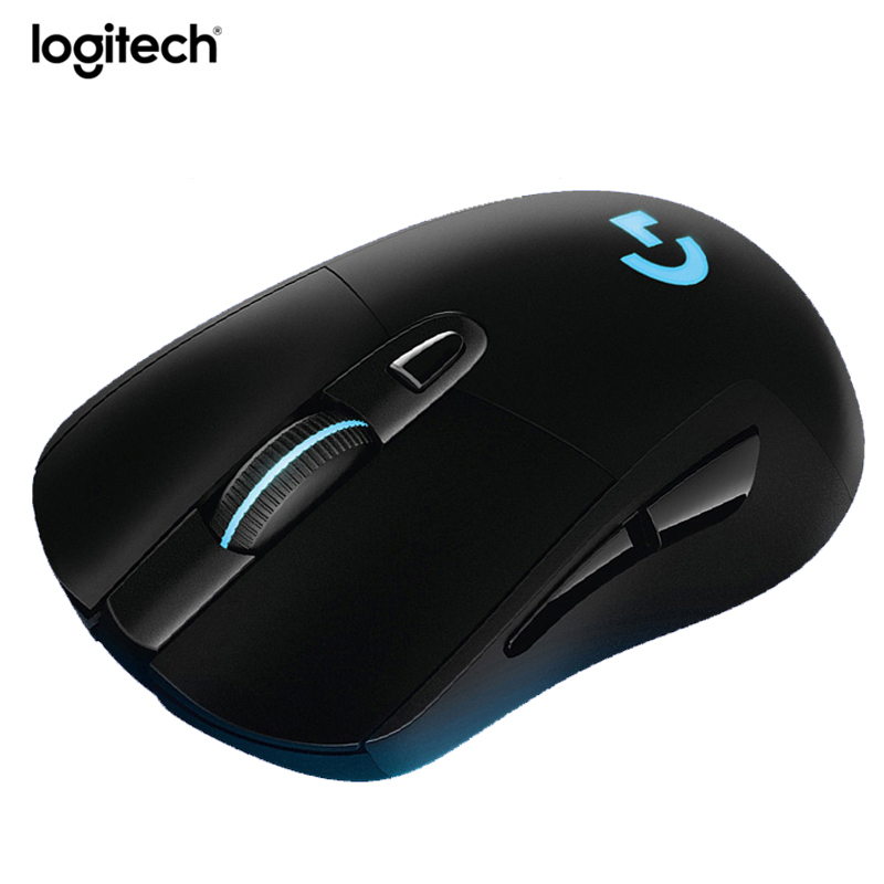 logitech g703 wired and wireless dual mode gaming mouse 12000 dpi rgb backlit computer gaming. Black Bedroom Furniture Sets. Home Design Ideas