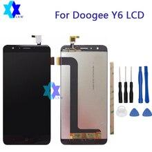 Купить онлайн Для Оригинал DOOGEE Y6 Y6C ЖК-дисплей Дисплей + Сенсорный экран Панель цифровой Запчасти для авто сборки 5.5 дюймов 1280×720 P в sto5ck