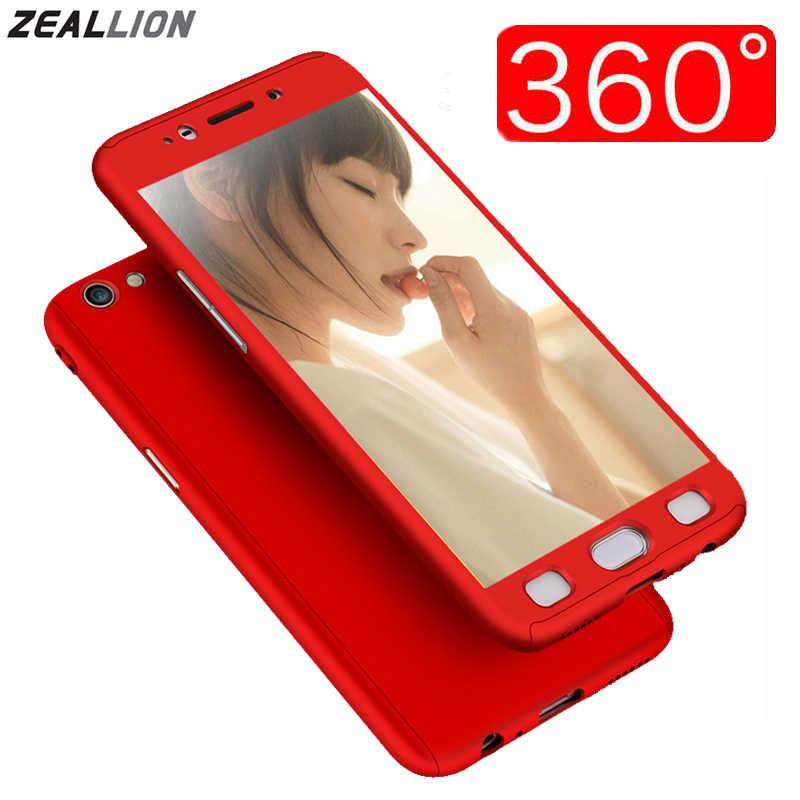 Zeallion для самсунга S5 S6 S7 край S8 S9 Plus Note 3 4 5 J3 J5 J7 2016 2017 Prime чехол 360 градусов полноразмерный гибридный жесткий чехол из поликарбоната