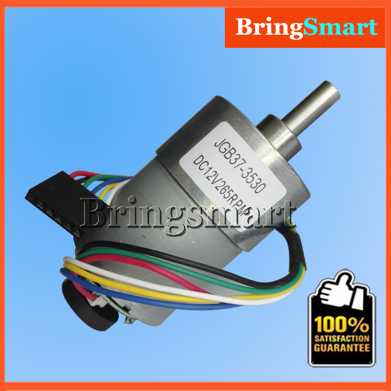 Wholesales jgb37 3530b gear motor with encoding disc for Measure torque of a motor