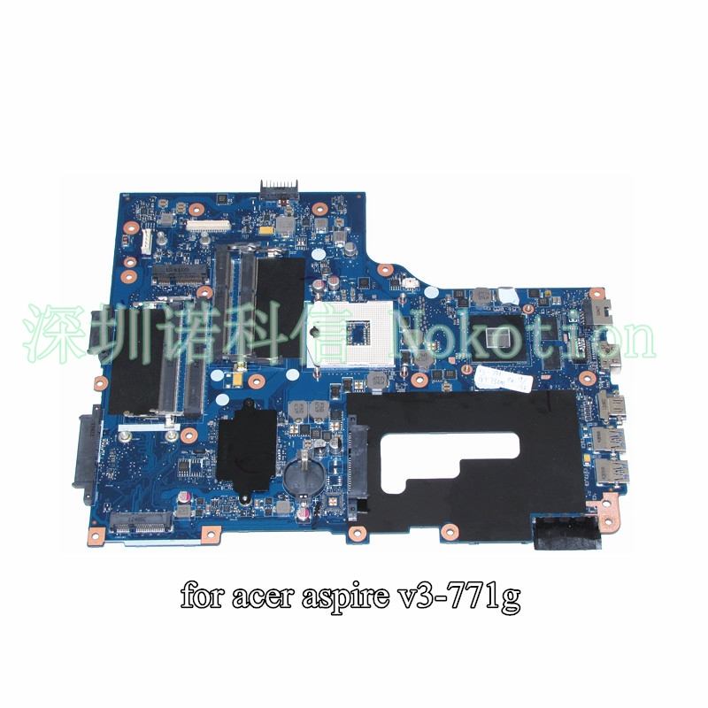 NBM7Q11001 NB.M7Q11.001 VA70 VG70 For acer aspire V3-771 V3-771G laptop motherboard 17.3 inch HD4000 warranty 60 days
